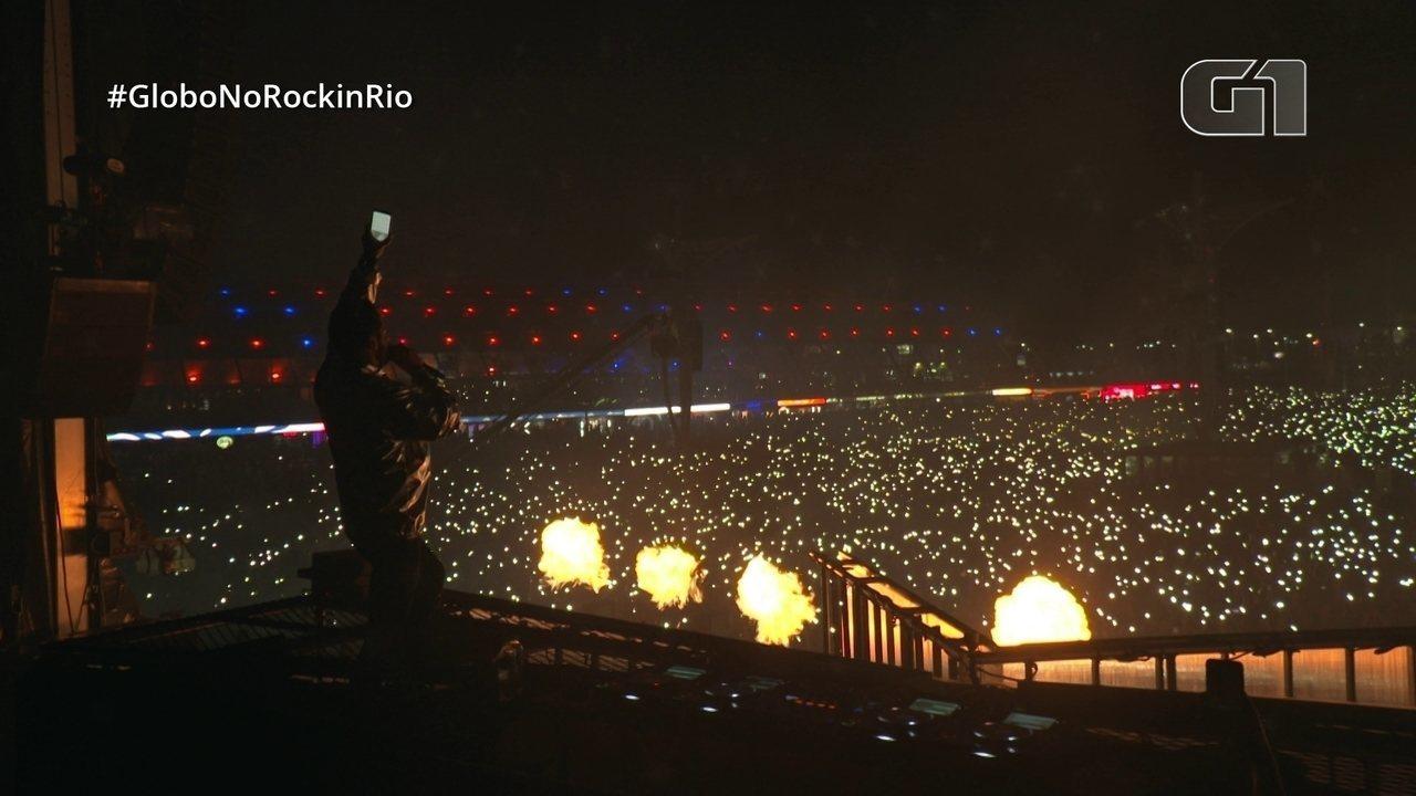 Alok comanda público do Rock in Rio e faz belo espetáculo de luzes