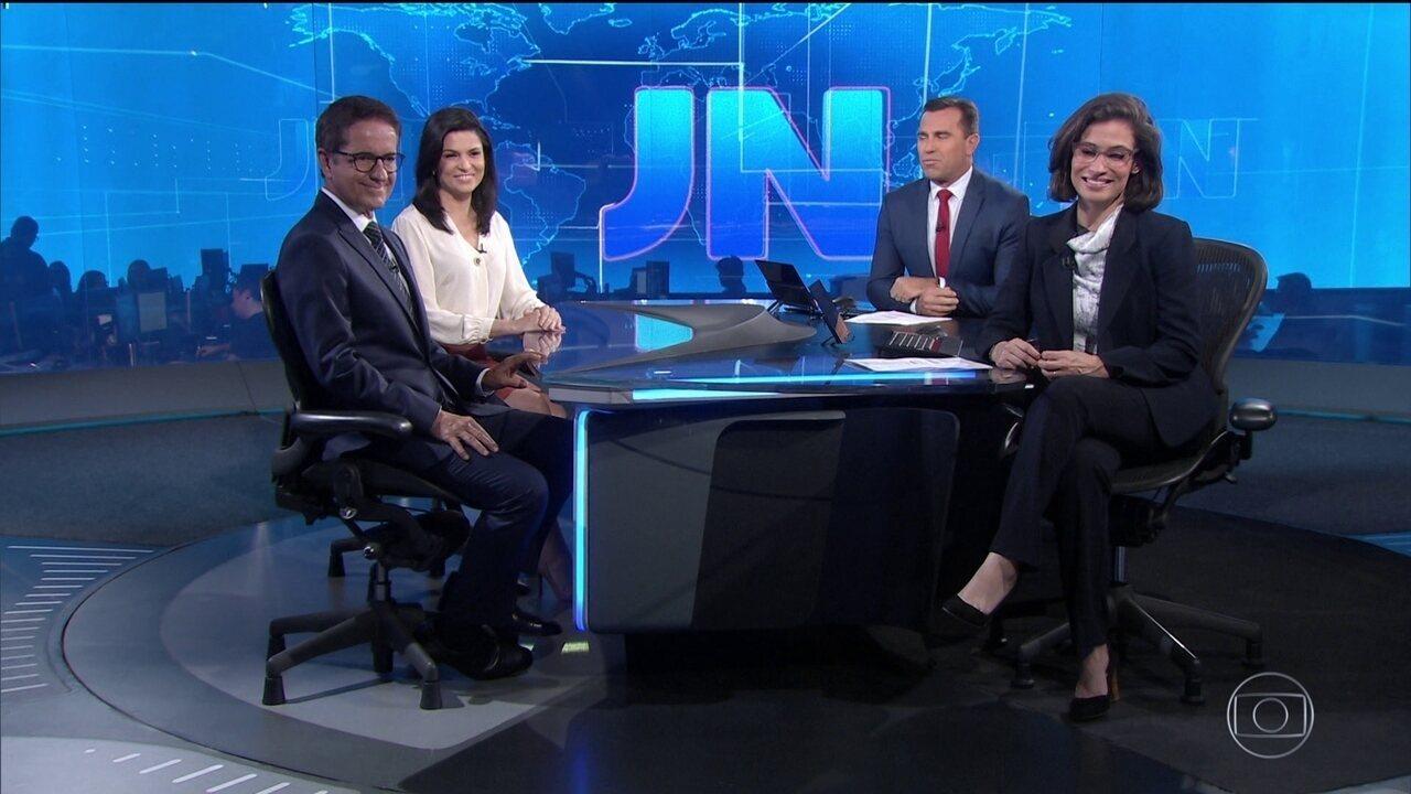 No aniversário de 50 anos, o JN traz apresentadores do Pará e de São Paulo