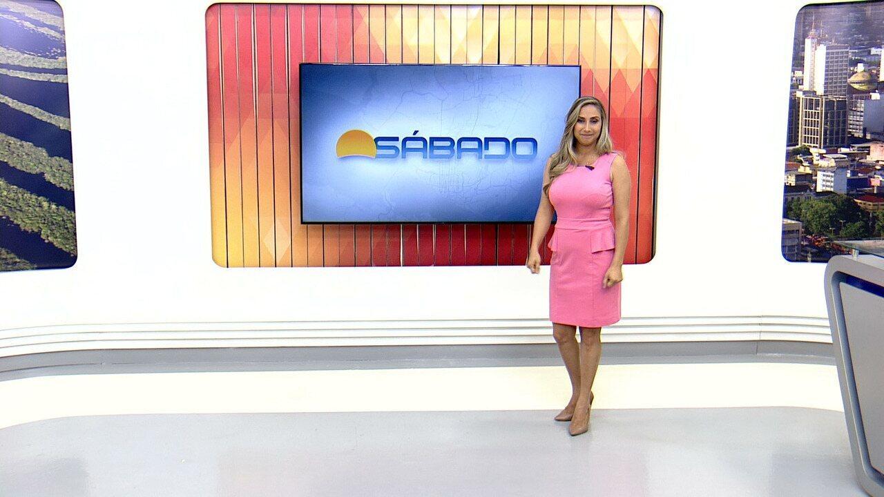 Assista a íntegra do Bom Dia Sábado, (28) - Daniela Branches apresenta.