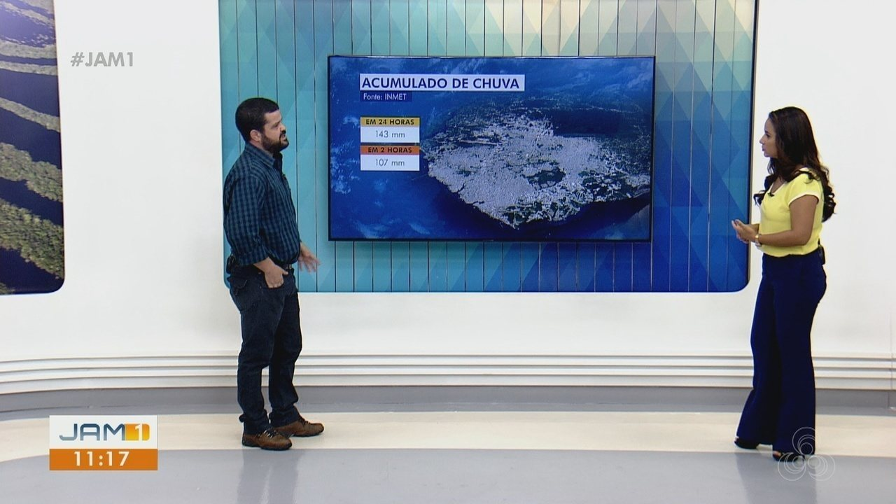 Meteorologist AM explains torrential rain in Manaus