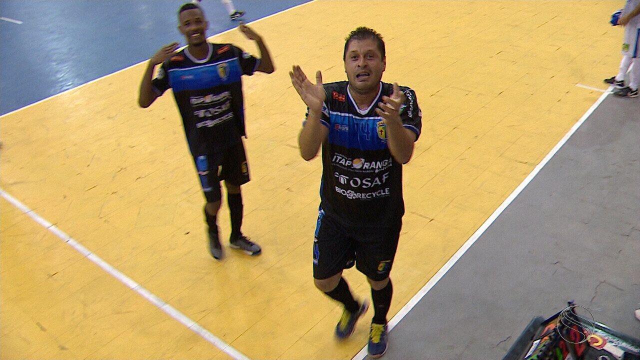 Valendo a liderança do grupo, Itaporanga bate São Cristóvão no final da primeira fase