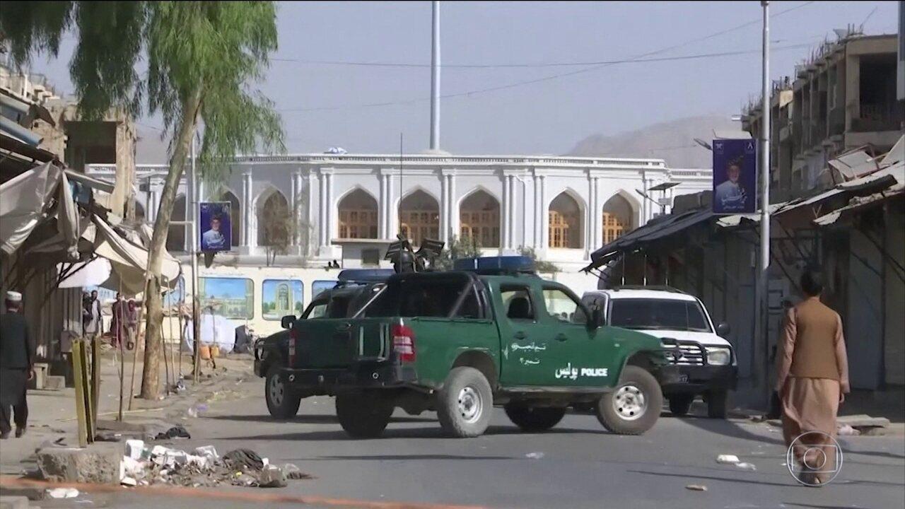 Cinco pessoas morrem durante o 1º turno das eleições para presidente no Afeganistão