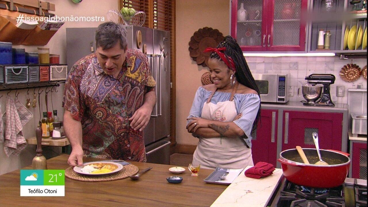 Isso a Globo Não Mostra #37: Quando elogiam minha comida