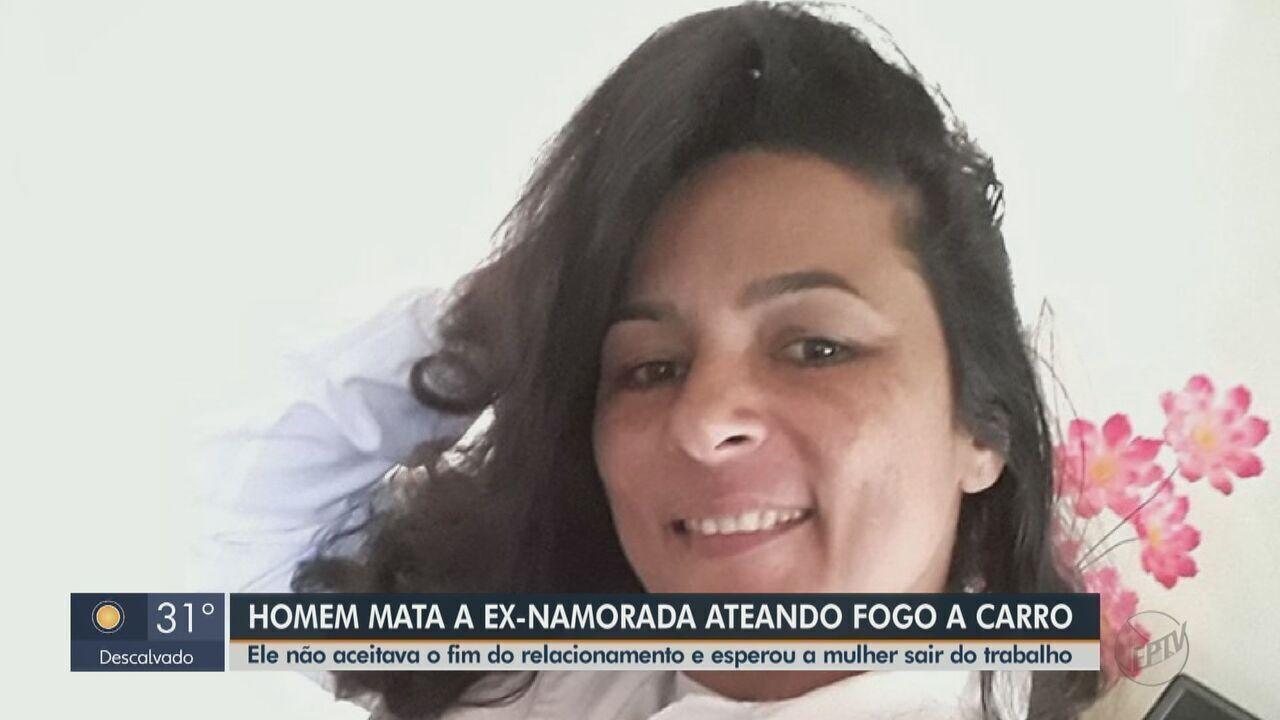 Corpo de mulher que teve carro incendiado será sepultado em Santa Cruz das Palmeiras
