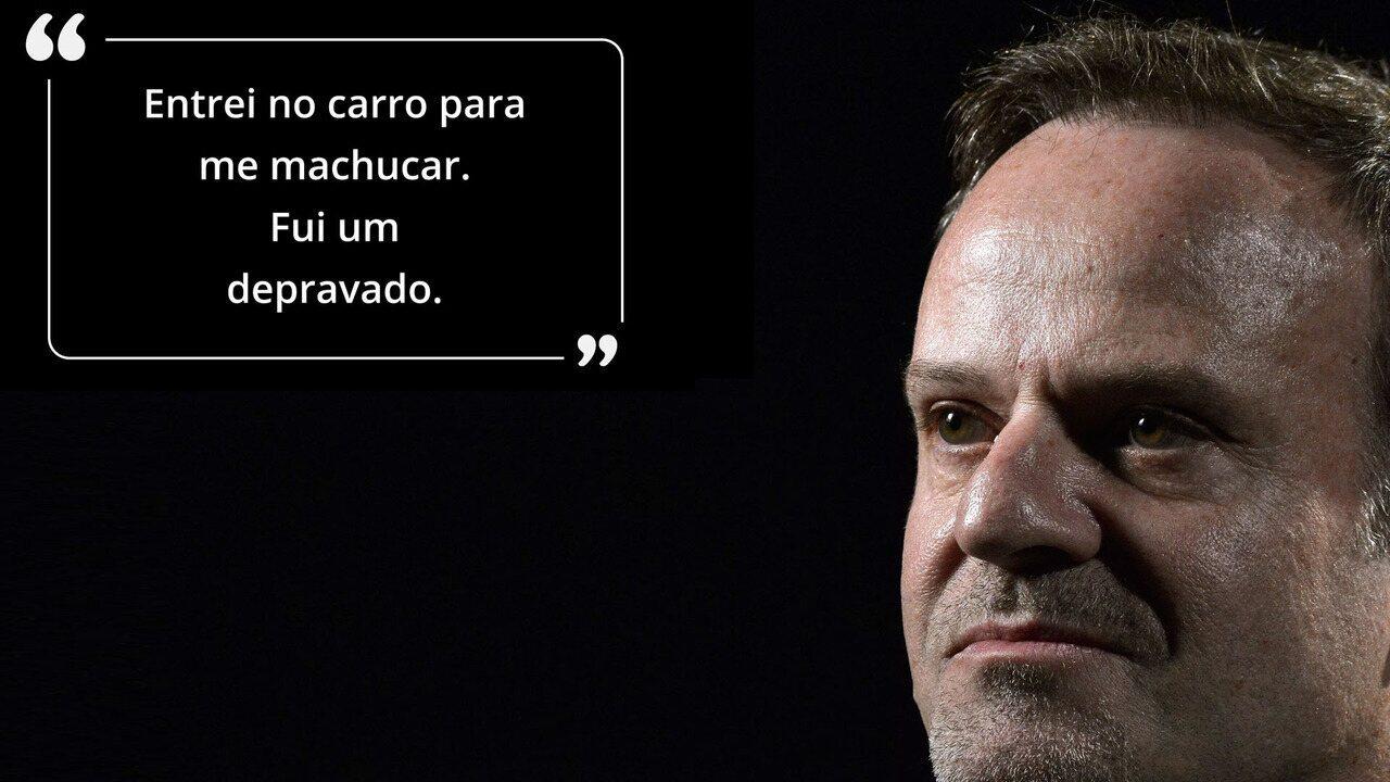 Rubinho Barrichello ''sincerão'' fala sobre saúde e relação com Schumacher e Senna