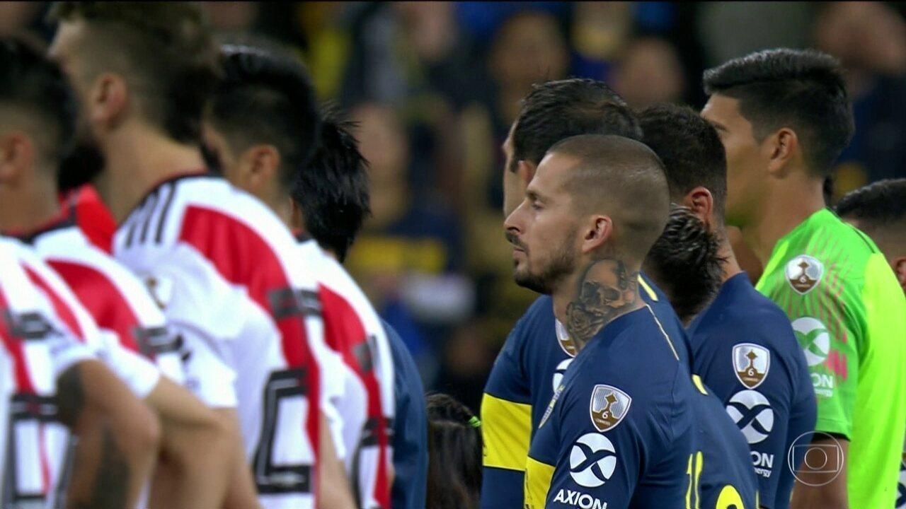Polícia de Buenos Aires reforça esquema de segurança para semifinal entre River e Boca