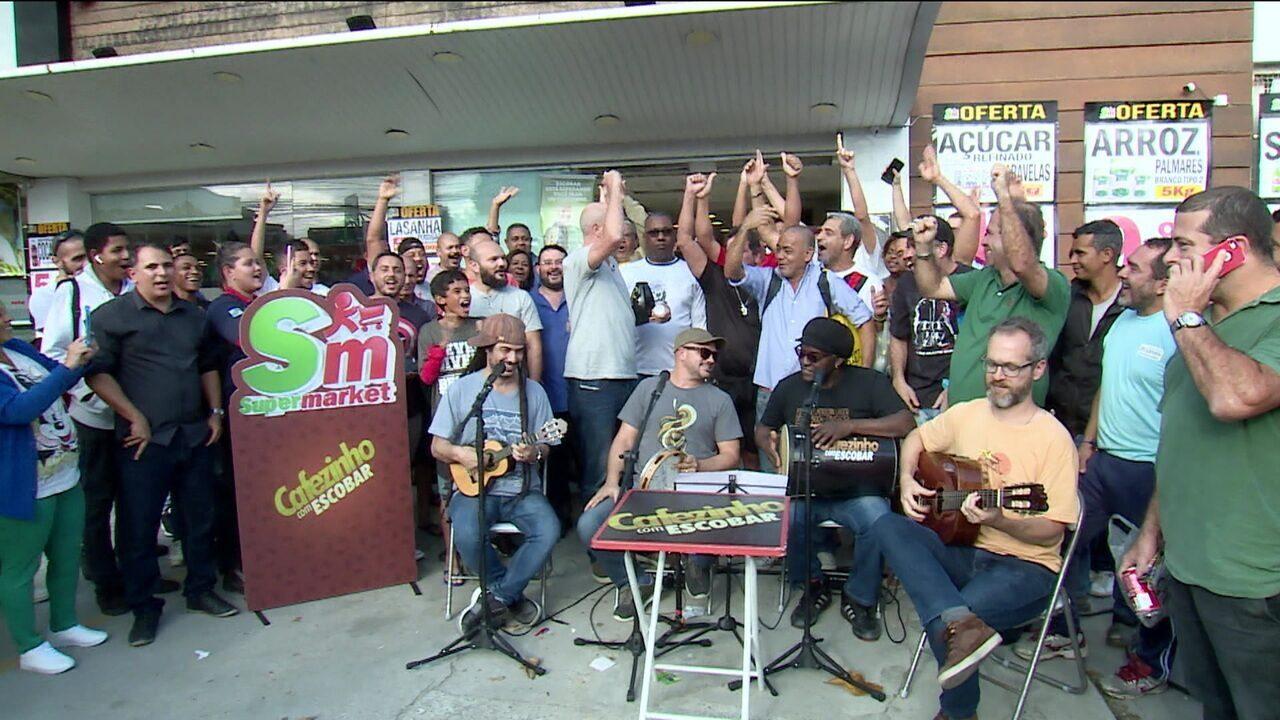 Cafezinho com Escobar comenta rodada do Brasileirão com torcedores em Piratininga