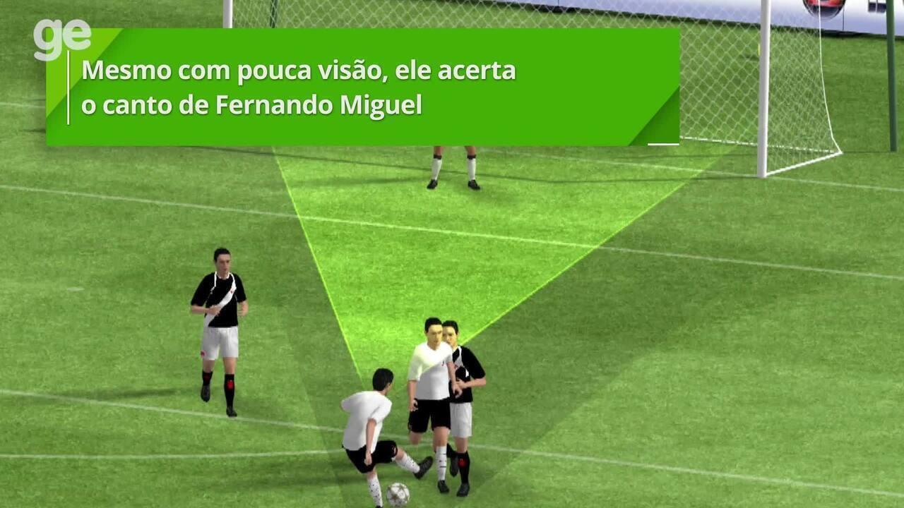Veja a análise detalhada do gol de Ralf contra o Vasco