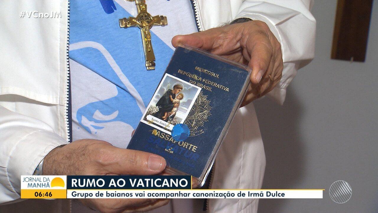 Baianos viajam para o Vaticano para acompanhar a canonização de Irmã Dulce