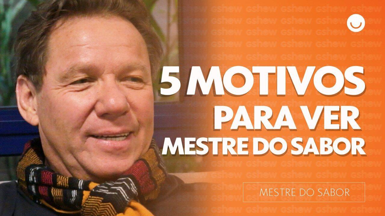 Claude Troisgros fala os 5 motivos para você ver o Mestre do Sabor