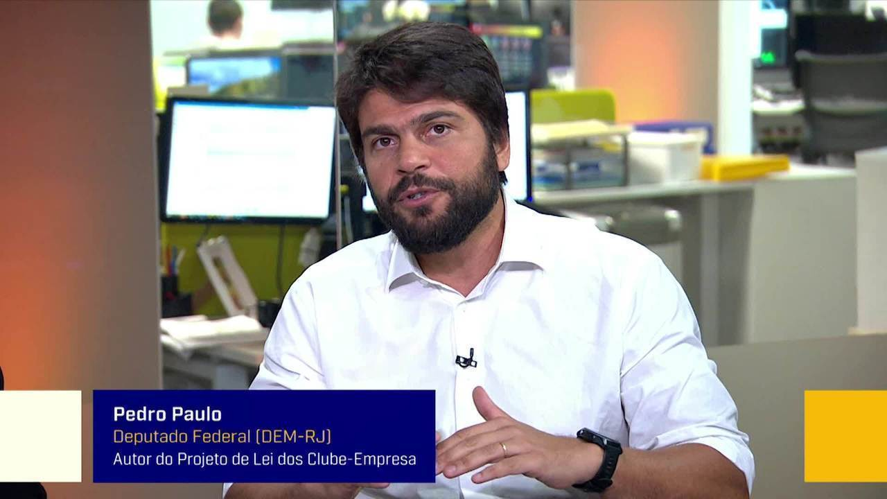 Veja a íntegra da participação de Pedro Paulo no Redação SporTV