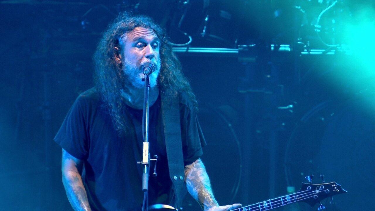 "Slayer canta ""South of Heaven"" no Rock in Rio"