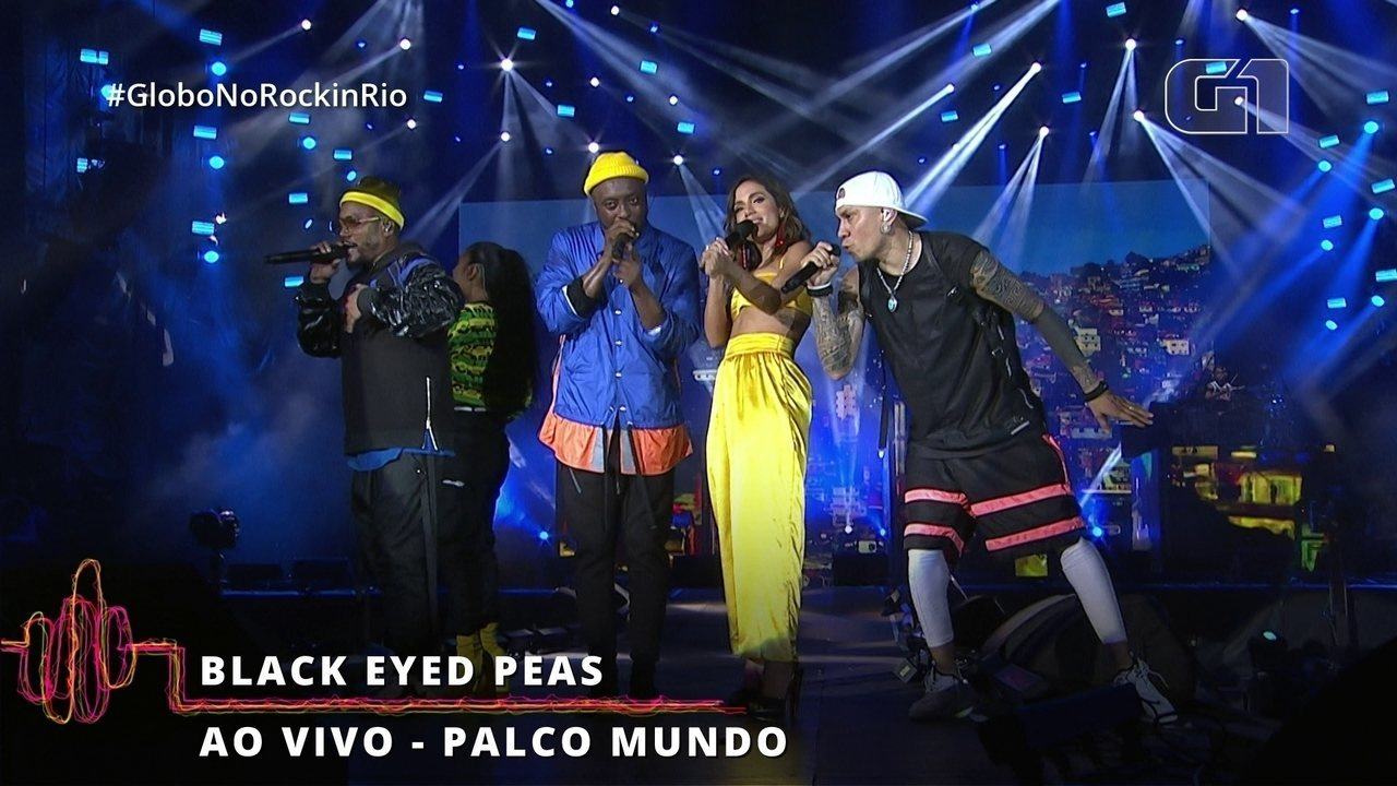 "Black Eyed Peas canta ""Don't Lie"" com Anitta no Rock in Rio"