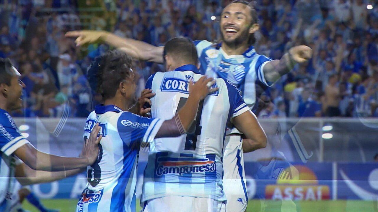 Os gols de CSA 3 x 1 Avaí pela 23ªrodada do Brasileirão 2019