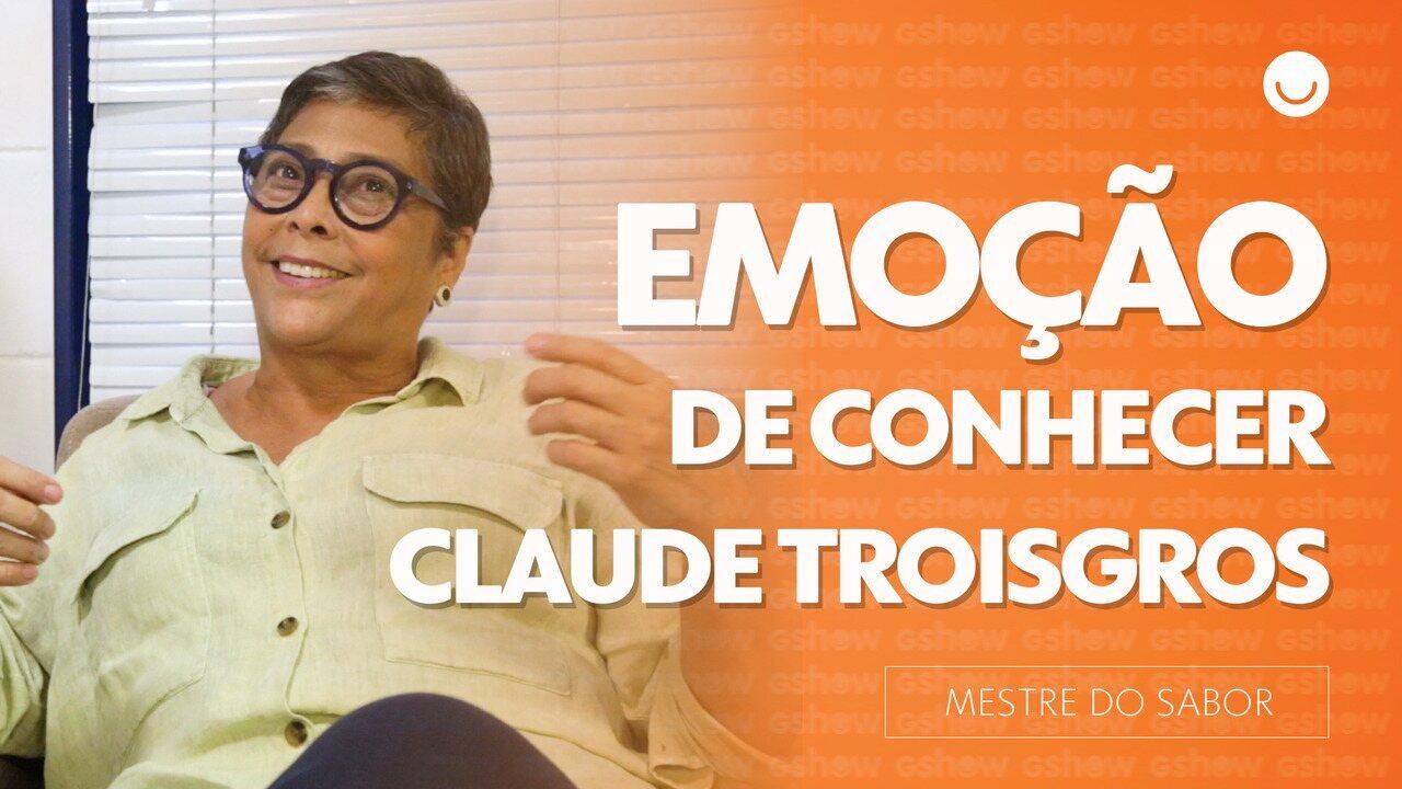 Kátia Barbosa conta da emoção de ter conhecido Claude