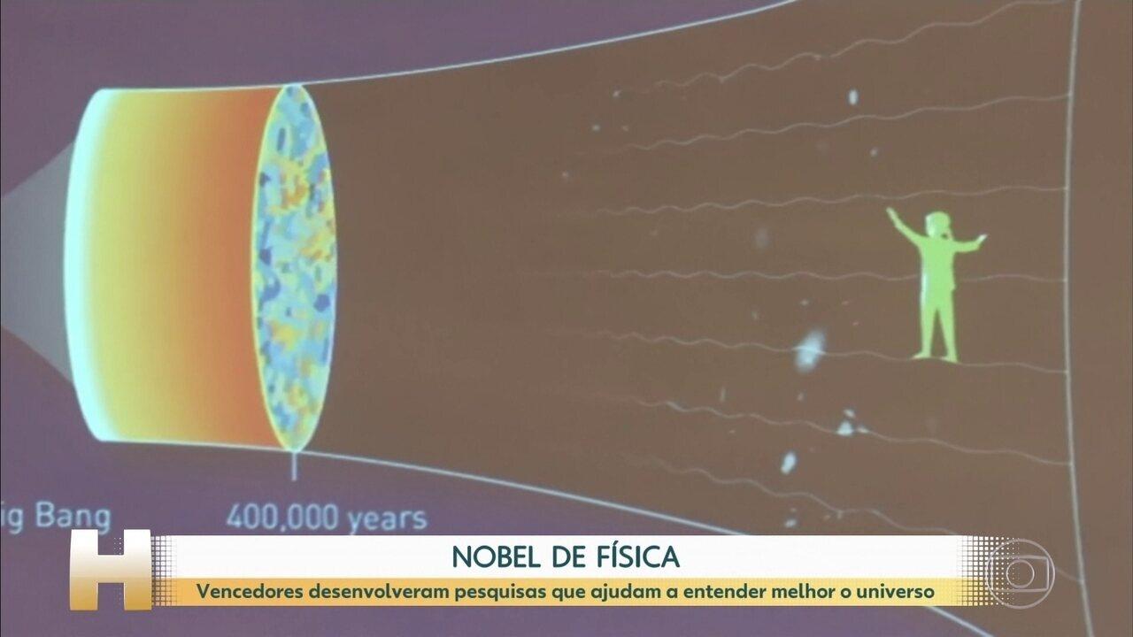 Anunciados os vencedores do Nobel de física