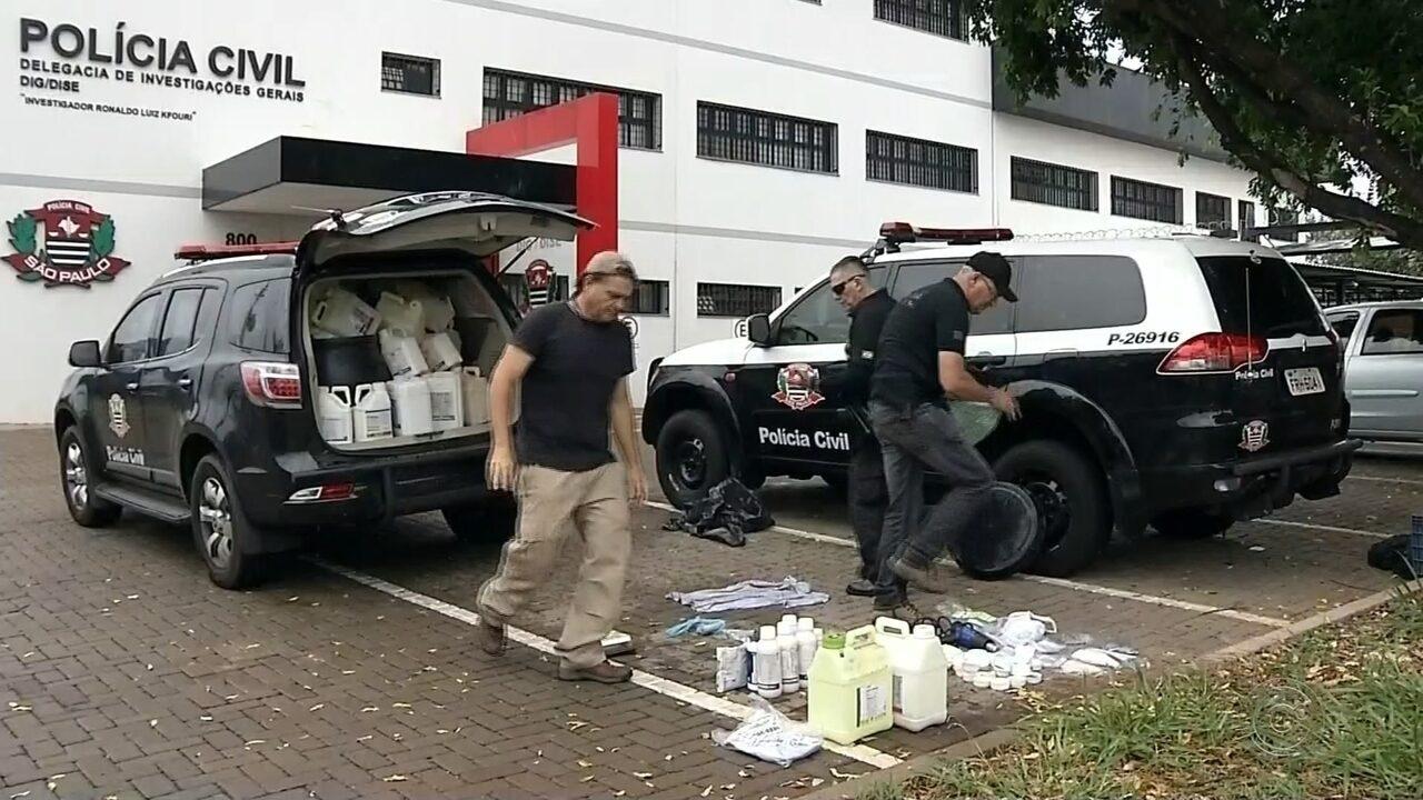 Operação prende quadrilha que roubava produtos agrícolas na região de Jales