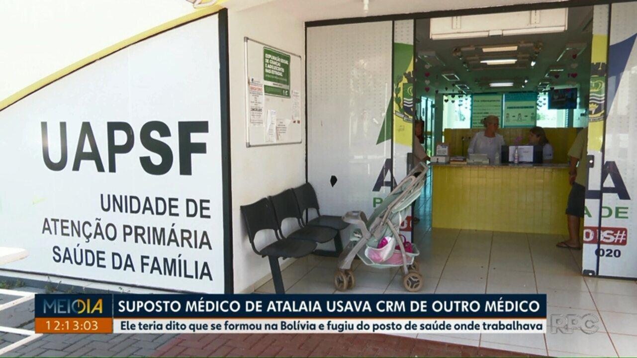 Suposto médico usava registro do CRM que não era dele em Atalaia