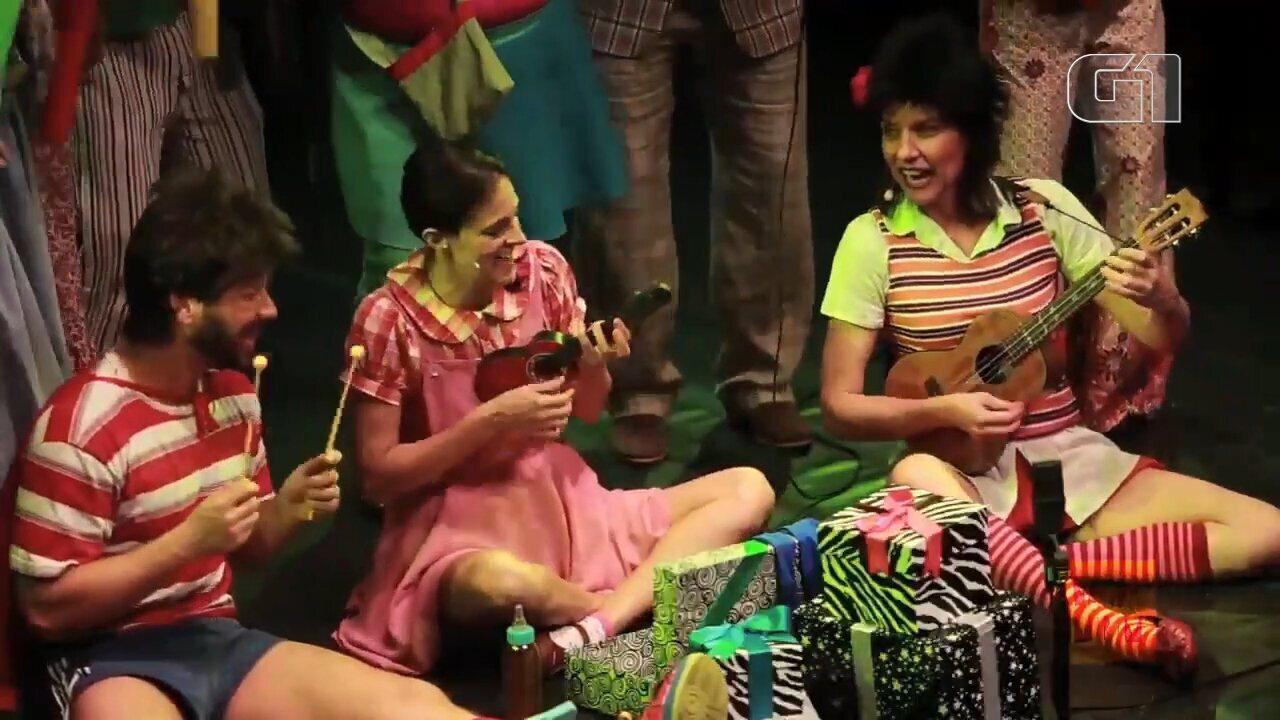 A premiada Banda Mirim, de São Paulo, apresenta nesta quinta-feira (10) o musical FESTA, em que a plateia acompanha vários aniversários da personagem Margarida.