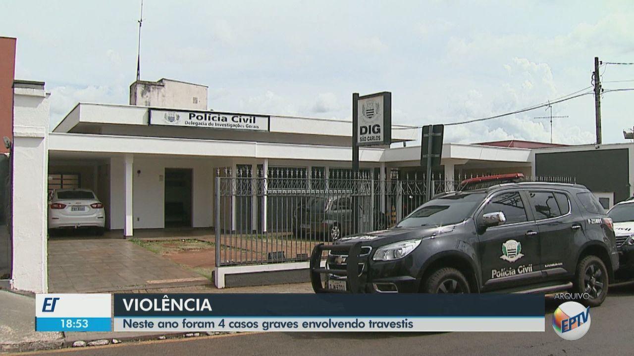 Polícia registra quatro crimes contra a vida de travestis em Araraquara e São Carlos