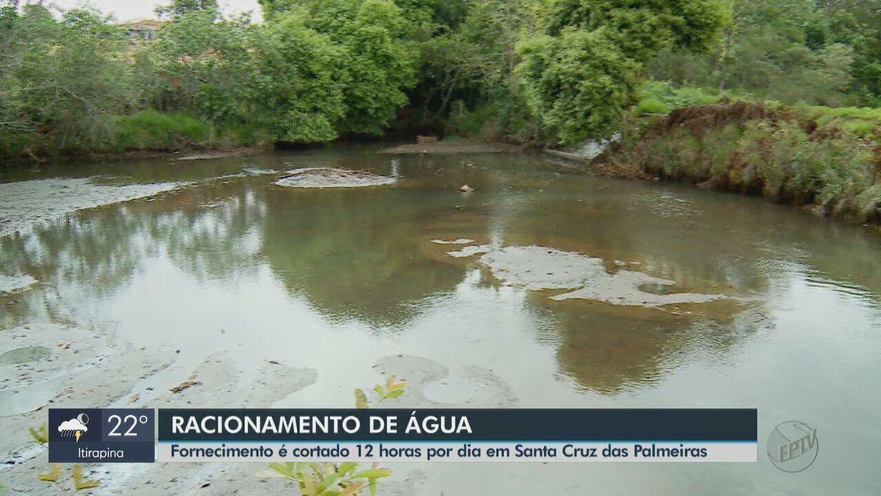 Santa Cruz das Palmeiras faz racionamento de água