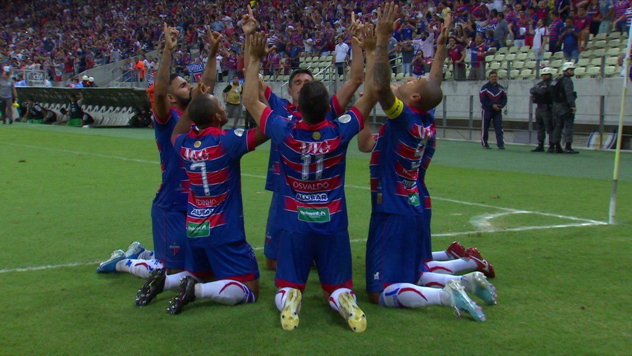 Os gols de Fortaleza 2 x 0 Chapecoense pela 24ª rodada do Brasileirão