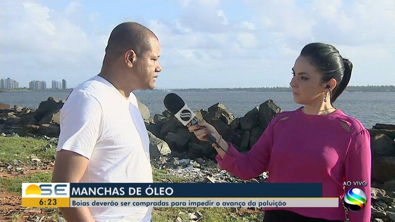 Petrobras não tem boias para contenção das manchas de óleo em Sergipe, diz Adema