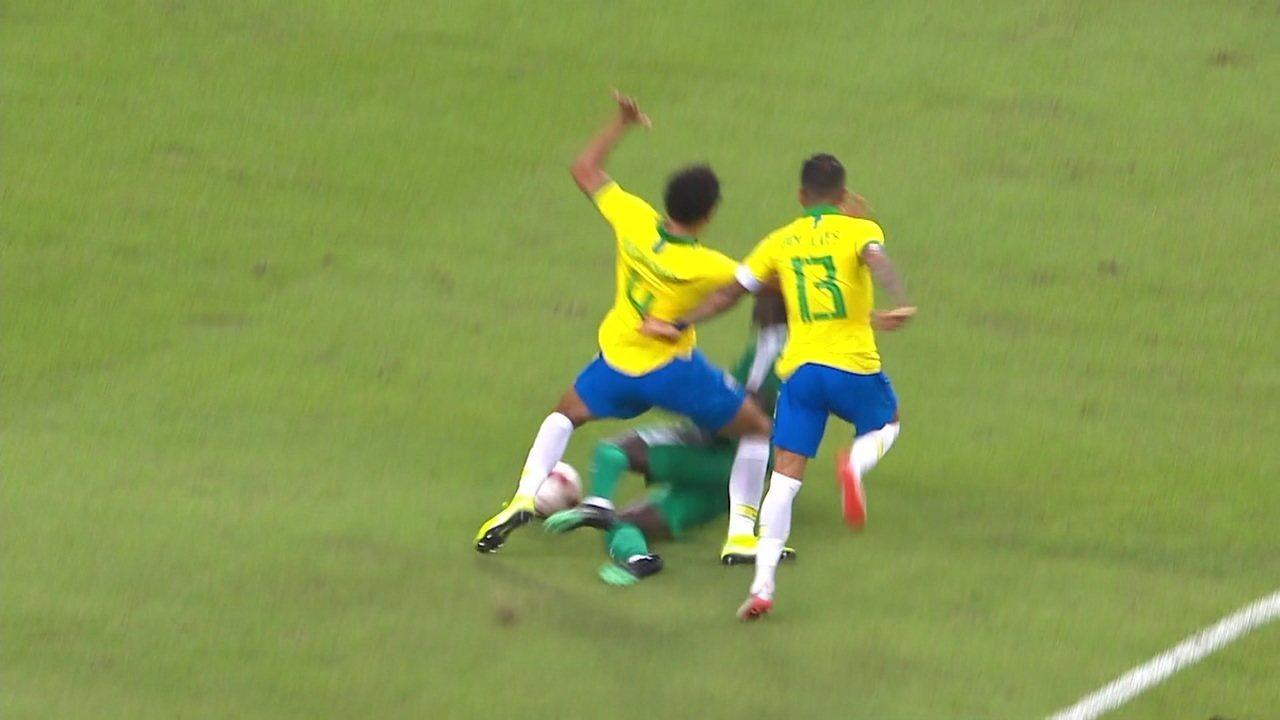 Melhores momentos: Brasil 1 x 1 Senegal em amistoso internacional