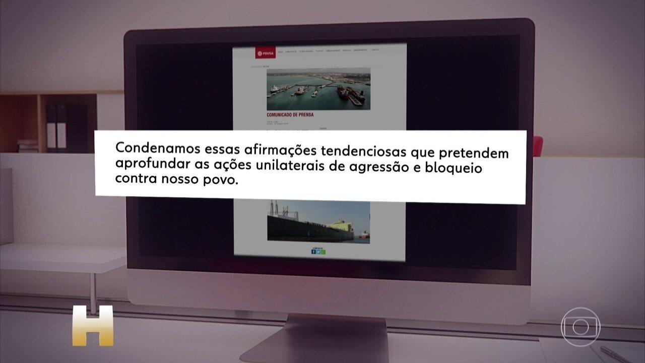 Governo da Venezuela nega qualquer responsabilidade pelo desastre ambiental