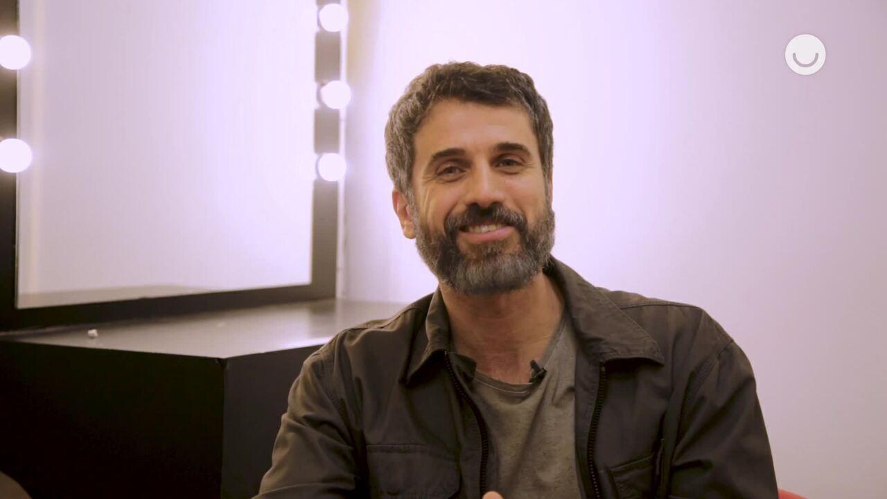 A ator Eriberto Leão conta quais serão suas influências musicais em Popstar