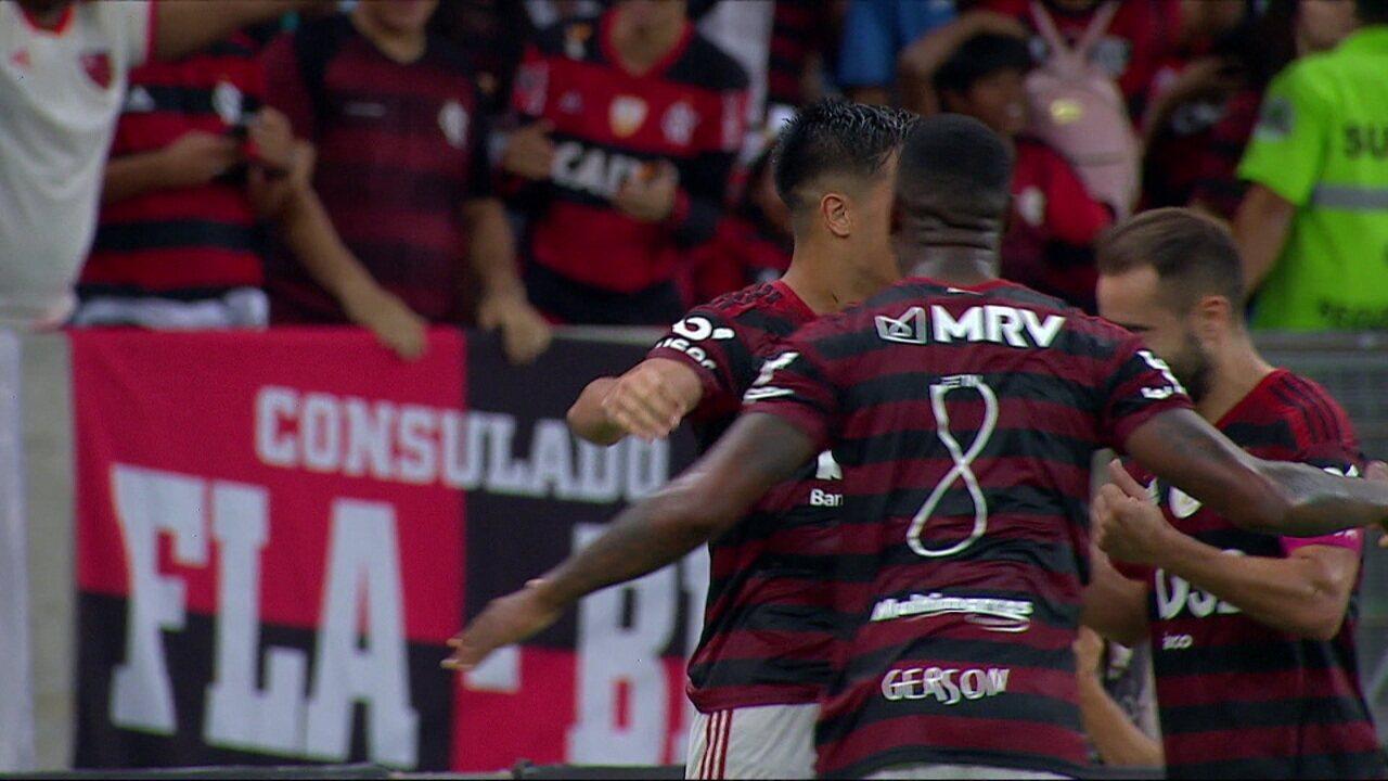 Melhores momentos: Flamengo 3 x 1 Atlético-MG pela 24ª rodada do Brasileirão