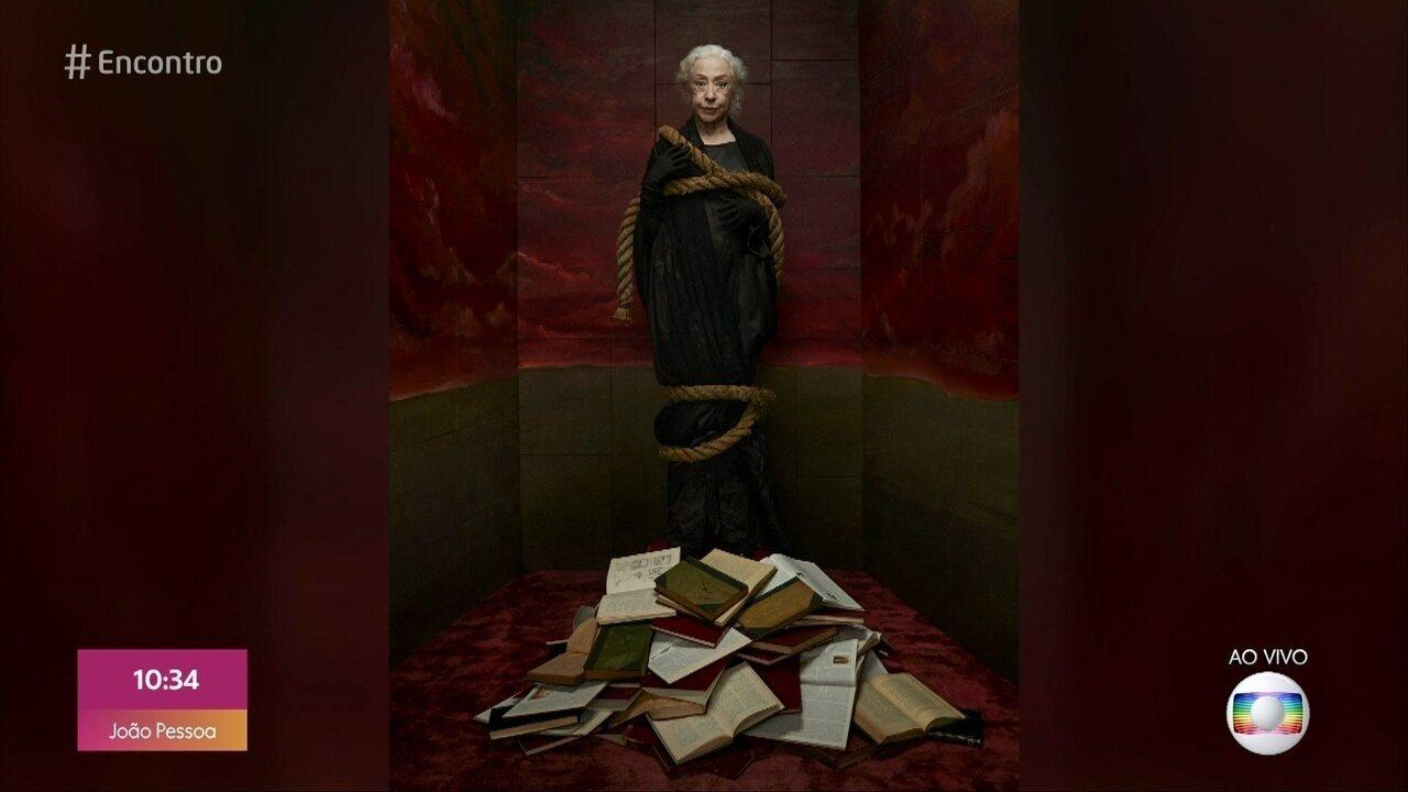 Fernanda Montenegro comenta polêmica por foto como bruxa