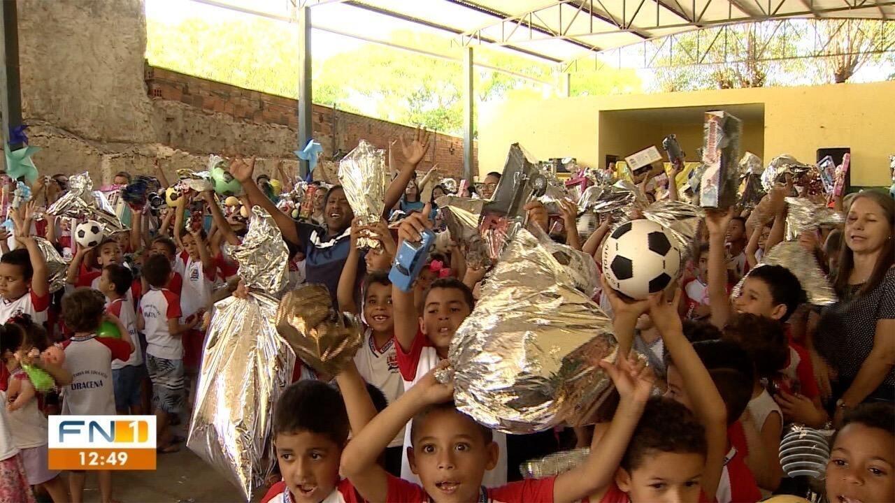 Dia das Crianças é comemorado neste sábado na região de Presidente Prudente