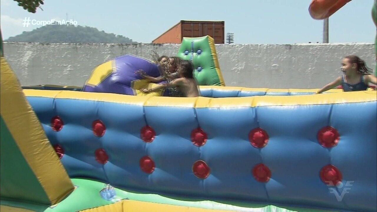 Em Santos, Tribuna Kids diverte a garotada neste Dia das Crianças