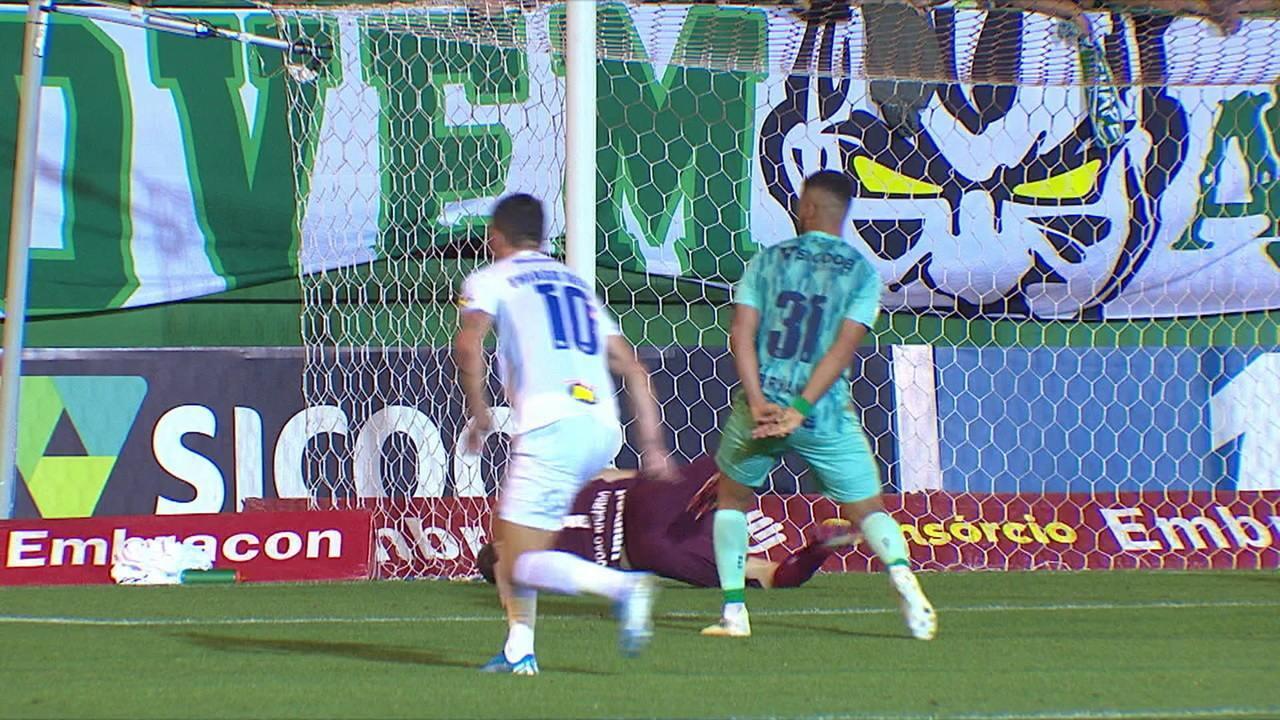 Melhores momentos: Chapecoense 1 x 1 Cruzeiro pela 25ª rodada do Campeonato Brasileiro