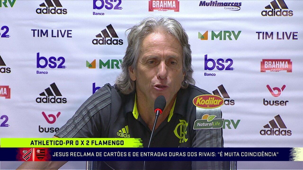 Comentaristas analisam Athletico-PR x Flamengo