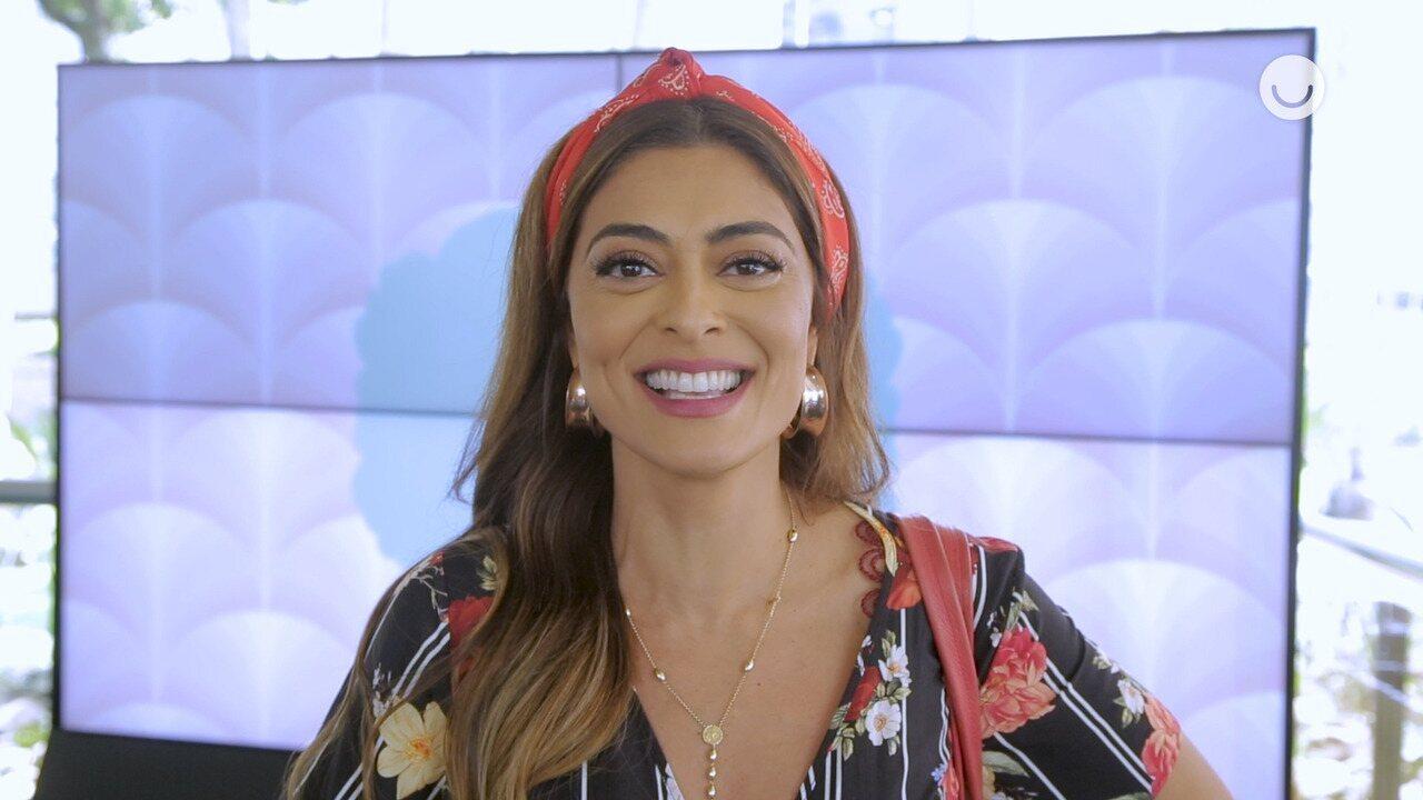 Juliana Paes e Pedro Carvalho comentam a expectativa de seus personagens para o Best Cake