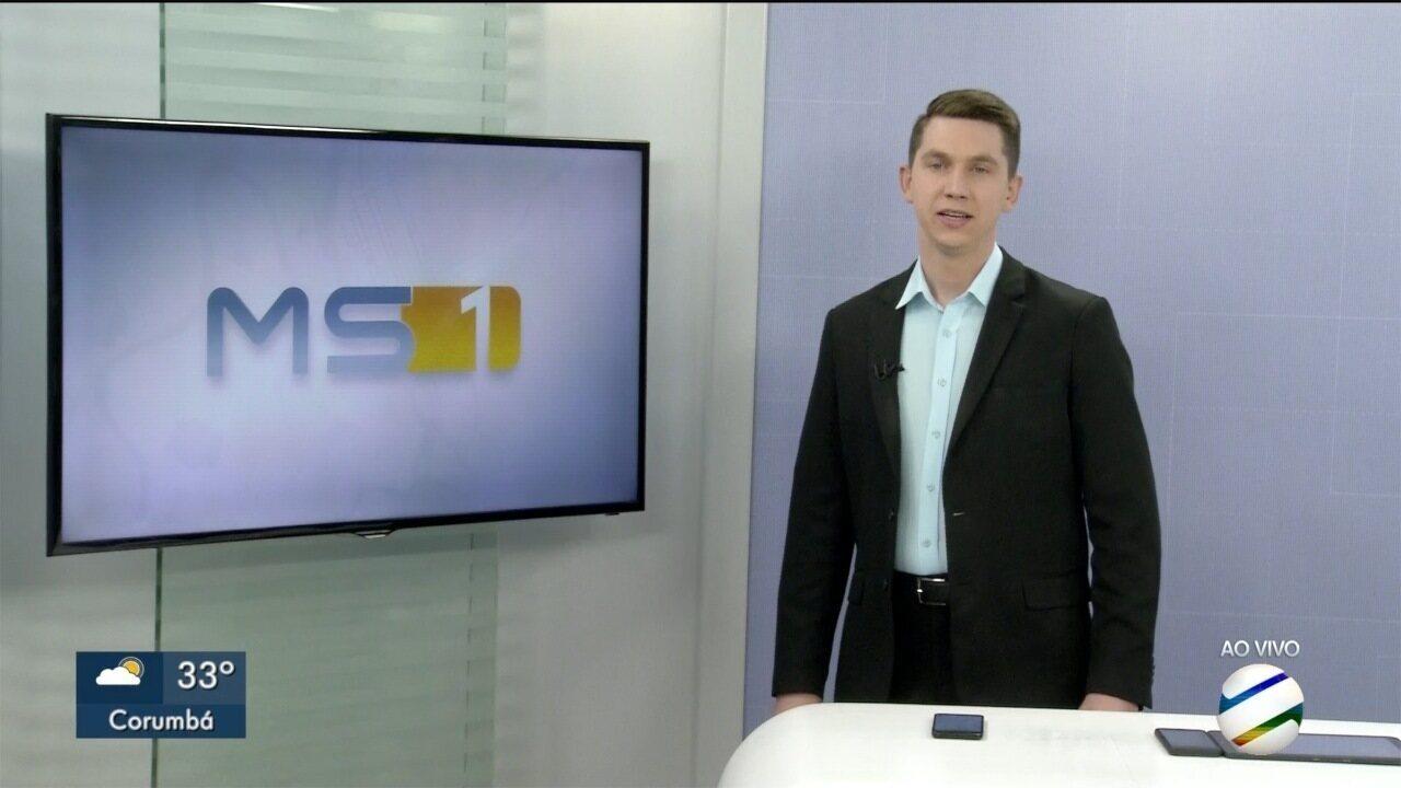 MSTV 1° Edição Corumbá, segunda-feira, 14/10/2019 - MSTV 1° Edição Corumbá, segunda-feira, 14/10/2019