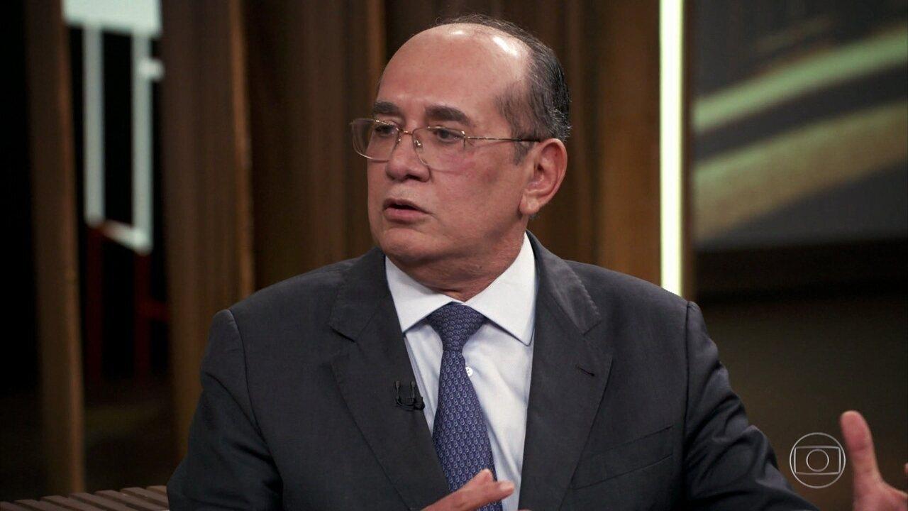 Gilmar Mendes fala sobre Sérgio Moro