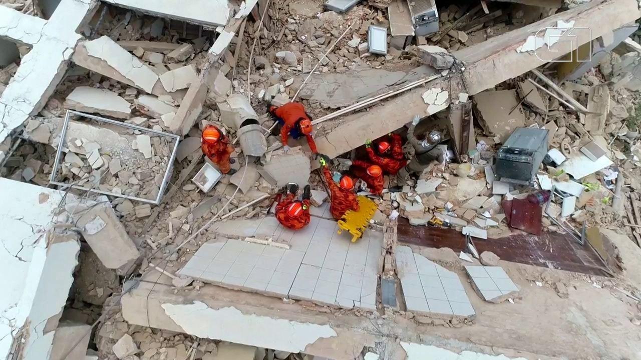 Prédio desaba em Fortaleza: veja imagens e o que se sabe