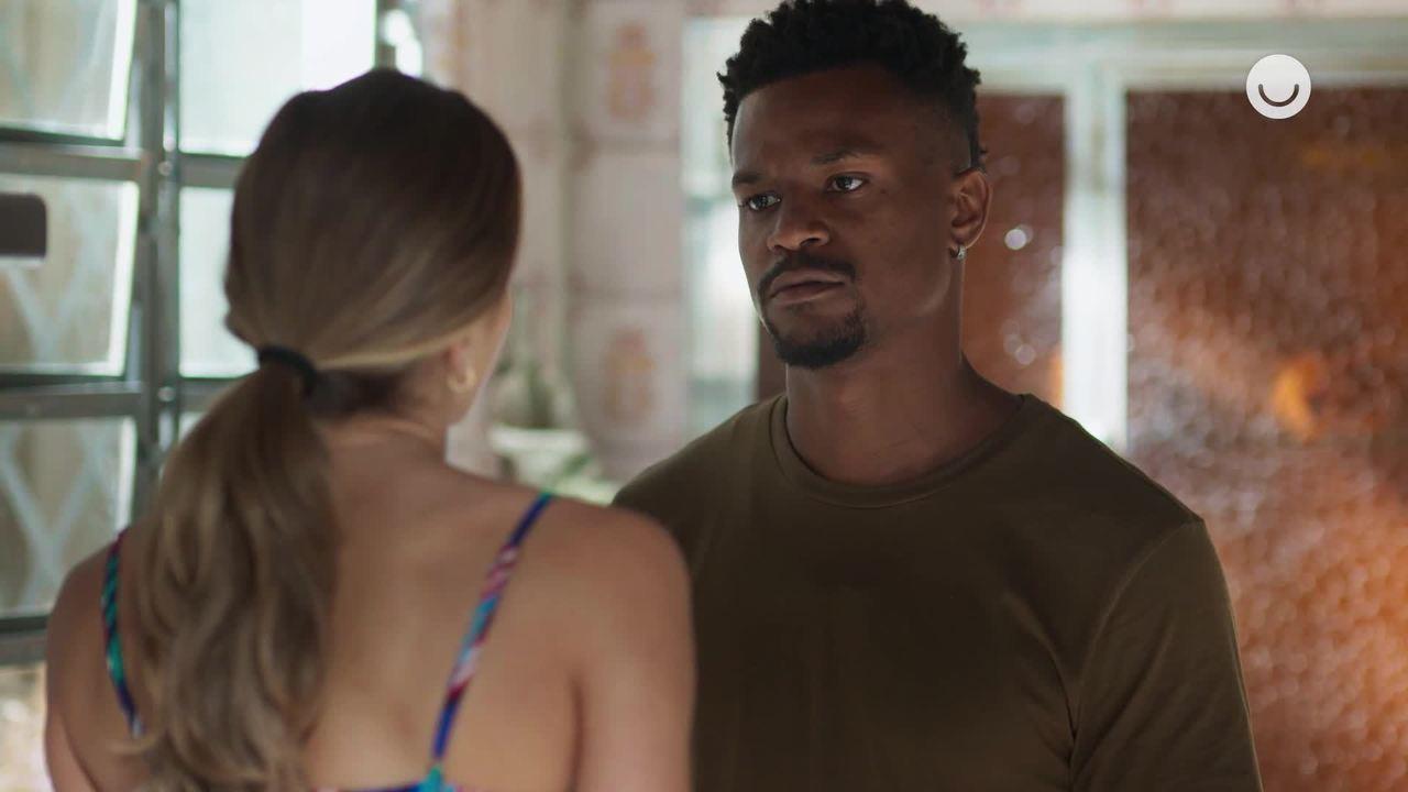 Teaser 'Bom Sucesso' 17/10: Ramon não aceita que Paloma volte a trabalhar para Alberto