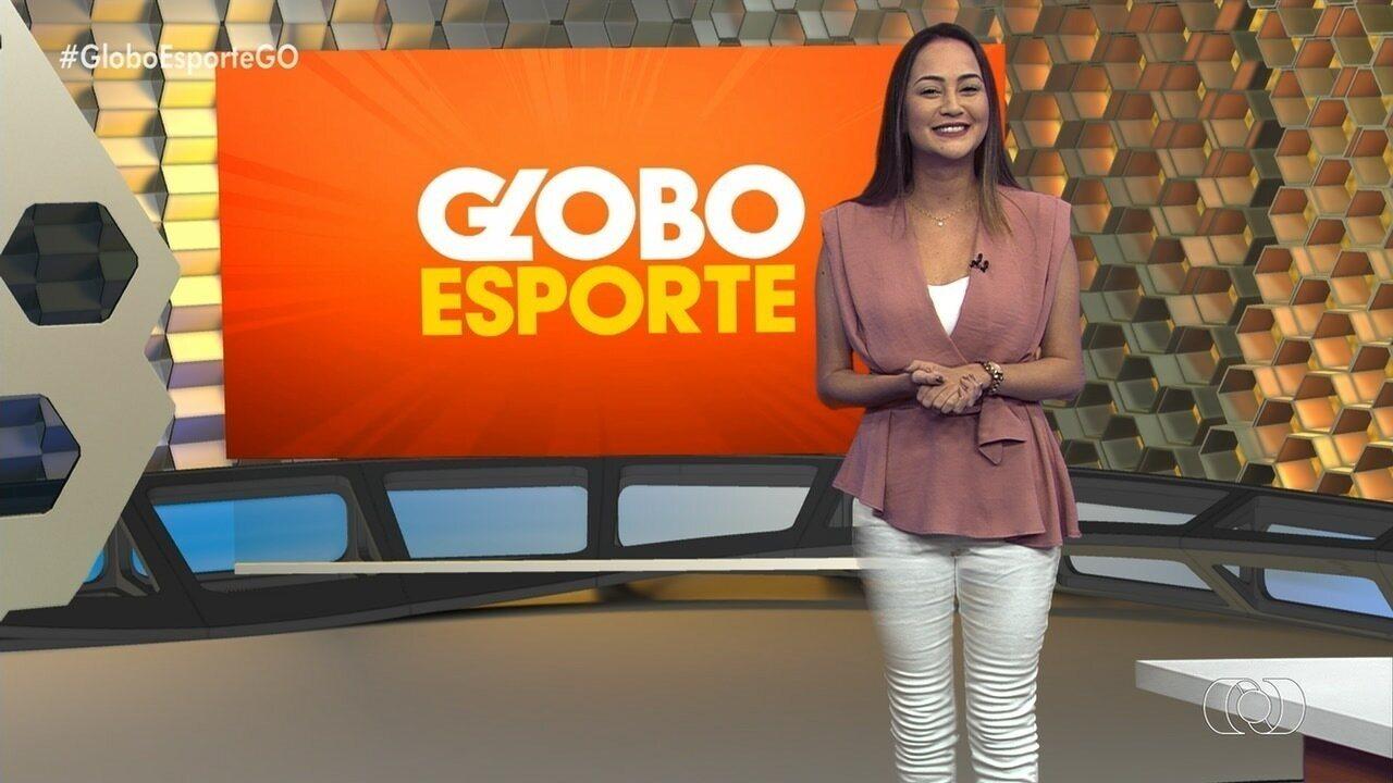 Globo Esporte GO - 17/10/2019 - Íntegra - Confira a íntegra do programa Globo Esporte GO - 17/10/2019