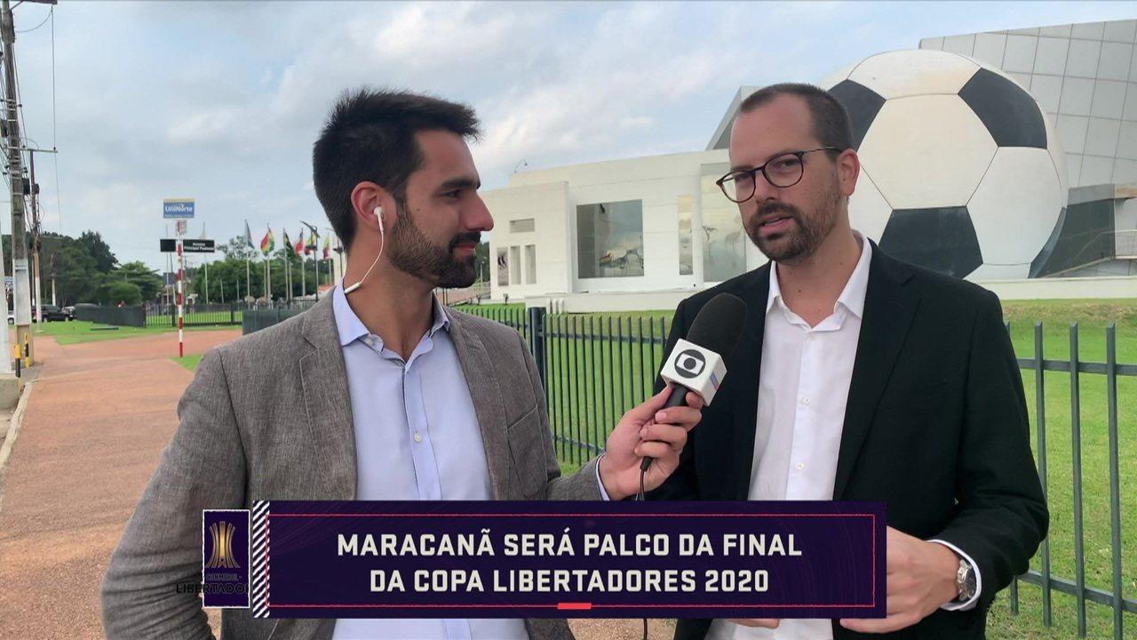 Conmebol define Maracanã como sede da final da Libertadores de 2020 e elabora critérios para o Mundial de 2021
