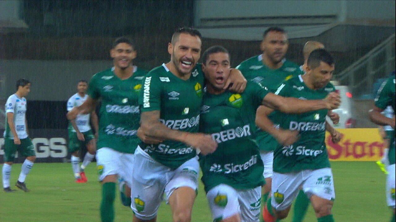 Os gols de Cuiabá 2 x 1 Guarani pela 30ª rodada do Brasileiro Série B