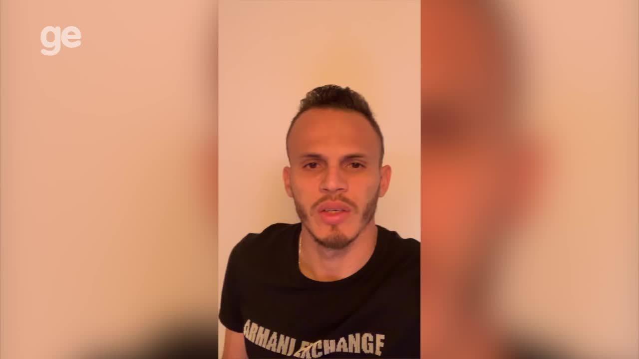 Renê, lateral-esquerdo do Flamengo, manda mensagem de apoio para Picos