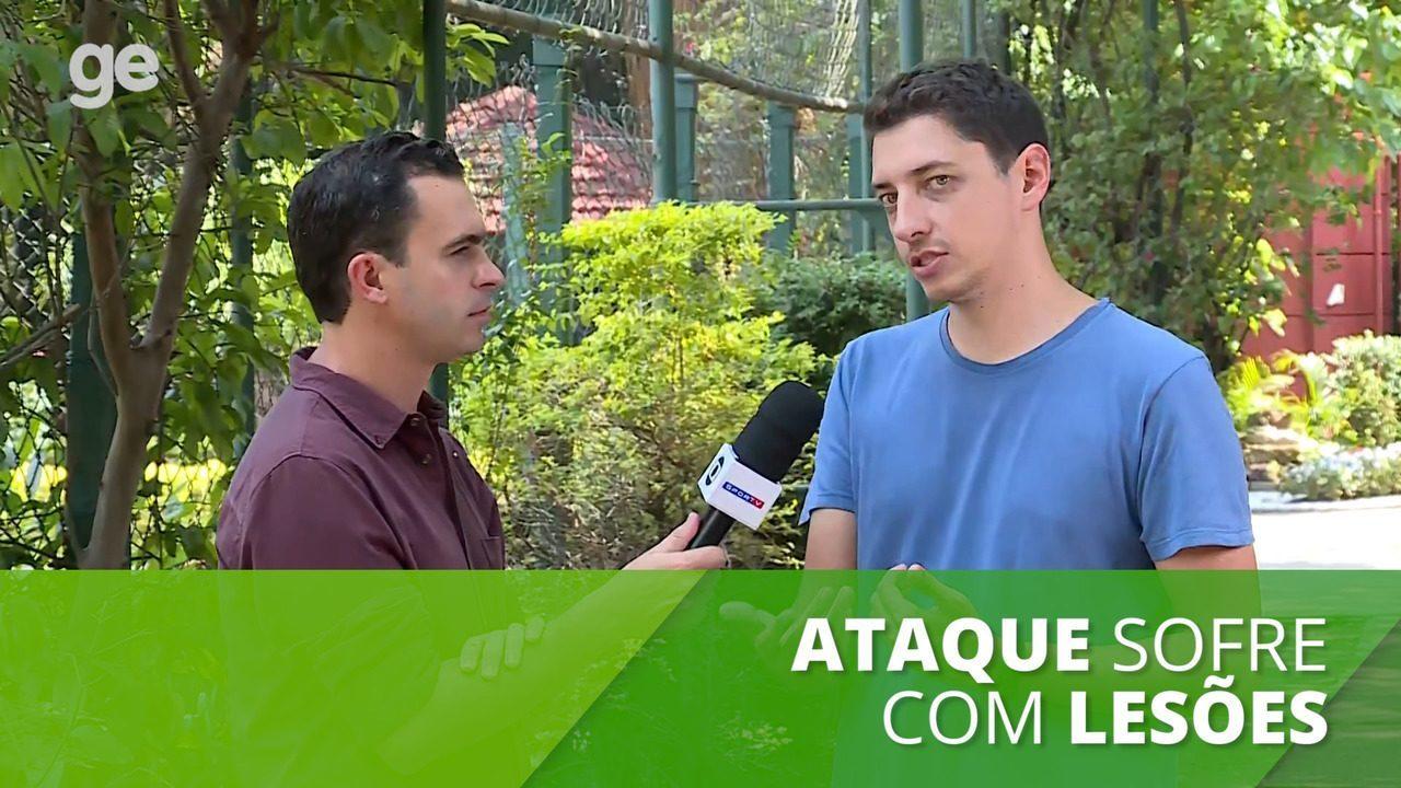 São Paulo sofre com lesões, e ataque tem pior média da história do clube