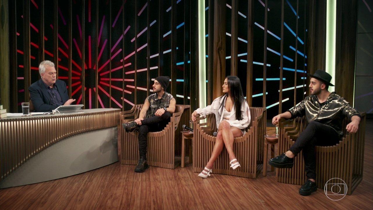 Gabriela, Diogo e Rodrigo falam sobre a formação da banda