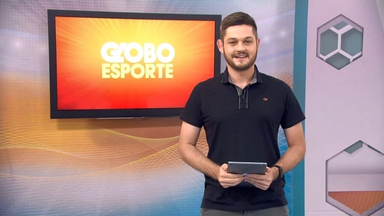 Confira a íntegra do Globo Esporte Triângulo Mineiro - Globo Esporte - Triângulo Mineiro - 19/10/19