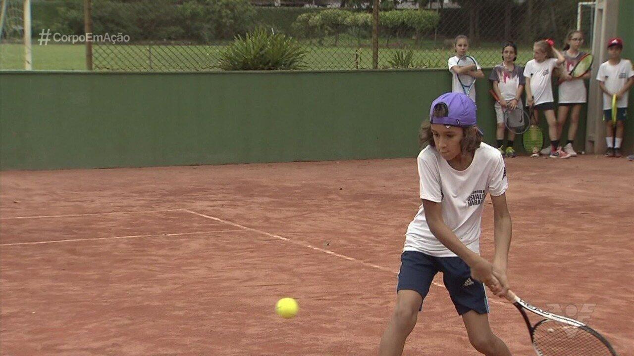 Promessa do tênis regional, Rafael Souza busca o bicampeonato no A Tribuna de Tênis