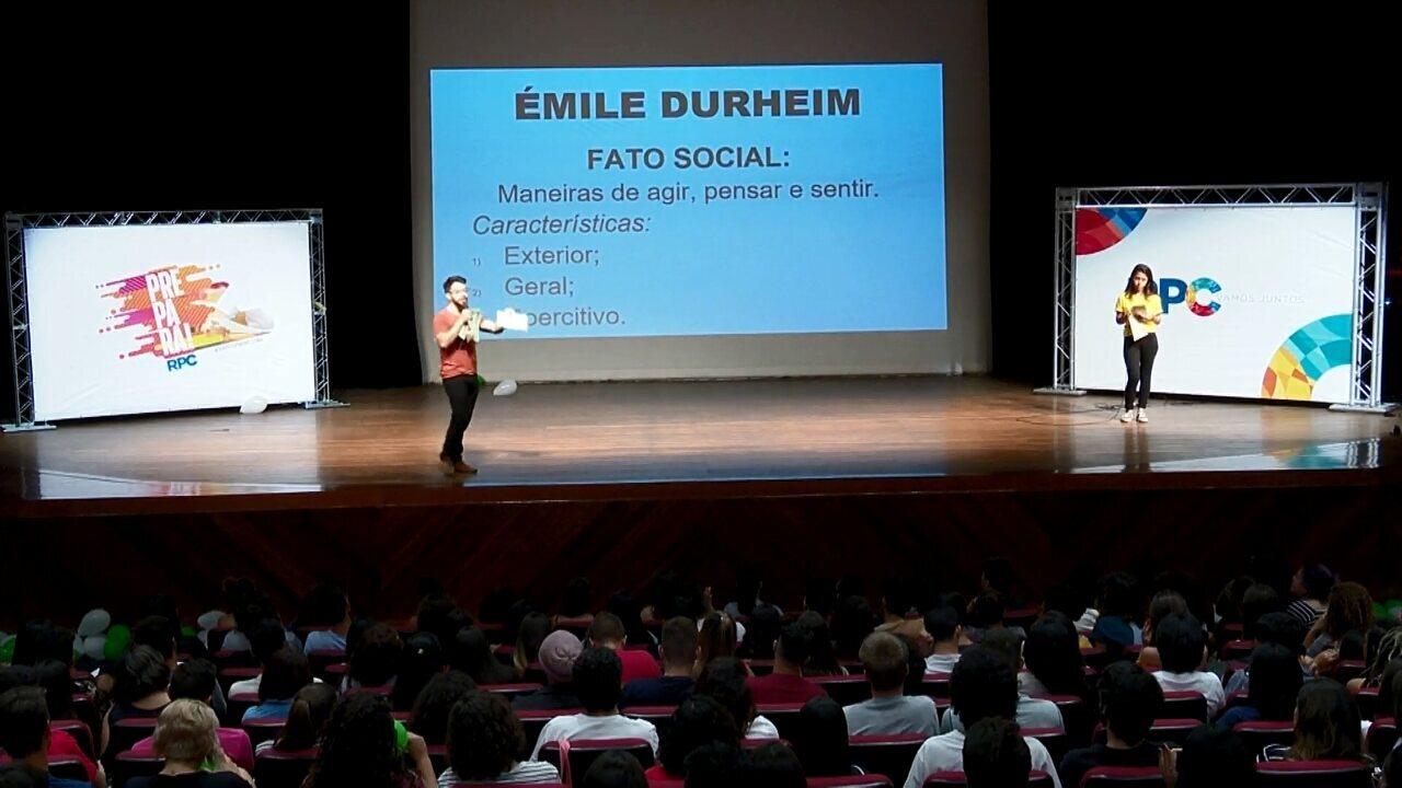 Prepara Londrina: assista às revisões do aulão de Sociologia